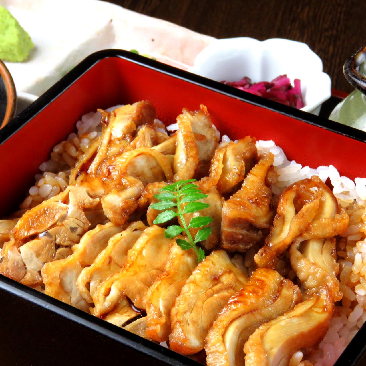 純系名古屋コーチン鶏ひつまぶし