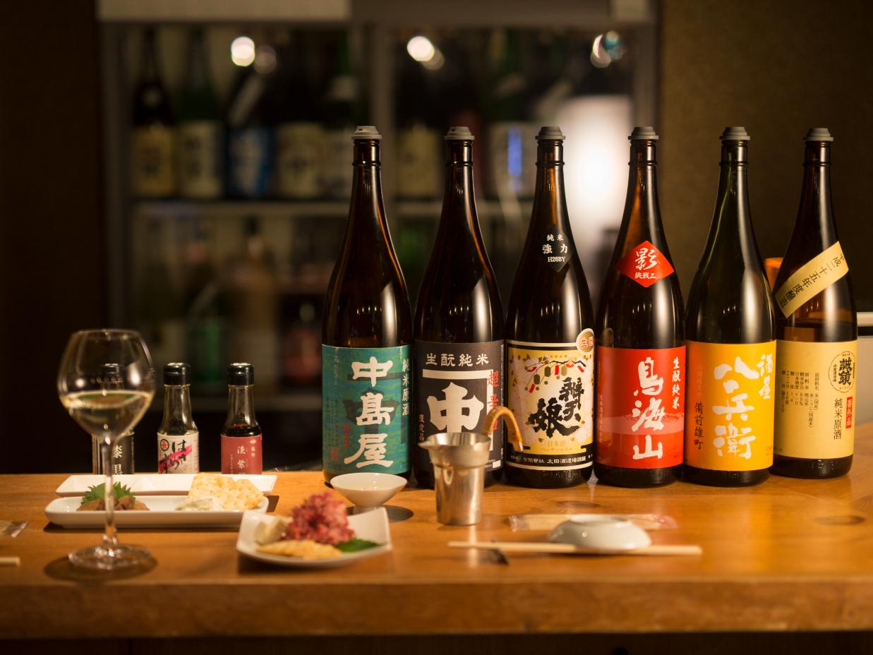 立ち飲みで純米酒を身近に。