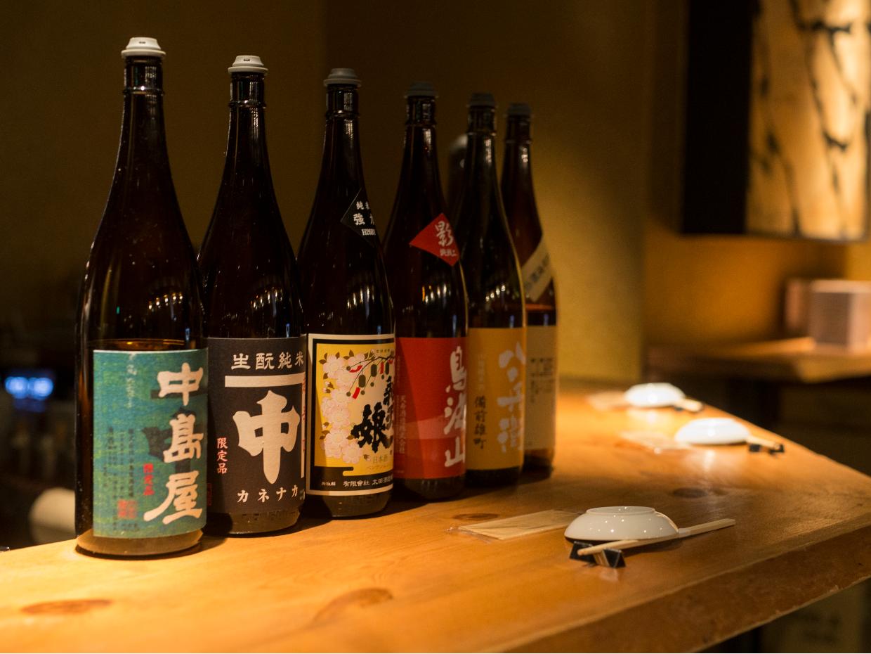 日本酒・お燗単品でもOK!